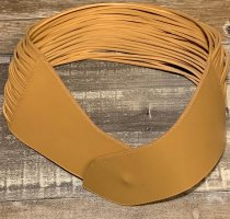 Wolford Leather Belt camel