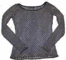 Wolford Crewneck Sweater black-grey polyamide