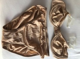 Wolford Lingerie Set bronze-colored-nude spandex