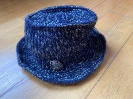 Galliano Woolen Hat multicolored wool