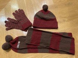 Woll-Winterset von JIGSAW (UK-Marke): Mütze, Handschuhe und Schal