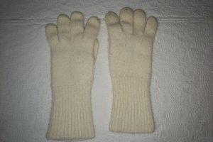 Unbekannte Marke Guanto con dita bianco sporco