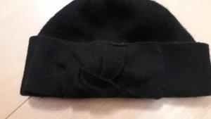 Wollhaube schwarz