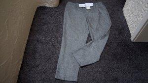 Lucia Wollen broek grijs-bruin-wolwit Wol