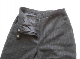 Clockhouse Woolen Trousers anthracite-light grey wool