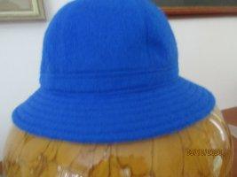 Chapeau en feutre bleu acrylique