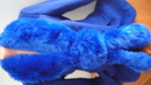 Chaqueta de lana azul Lana