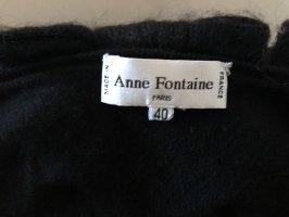 Anne Fontaine Robe en laine noir