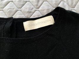 Custommade Woolen Dress black