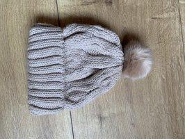 H&M Cappello a maglia beige