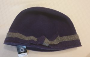 Woolen Hat grey violet