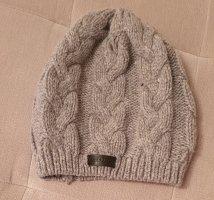 Wollen hoed grijs