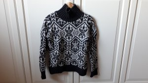 H&M Wool Sweater white-anthracite