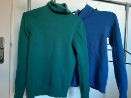 United Colors of Benetton Wool Sweater blue-green