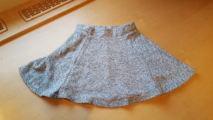 Only Wool Skirt silver-colored-white wool