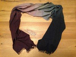 Wollschal Tuch mit Farbverläufen von Mango