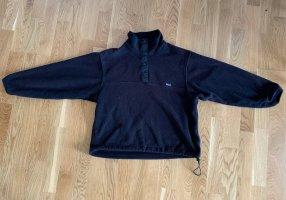 Woolrich Fleece Jumper black polyurethane