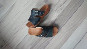 woody Clog Sandals black