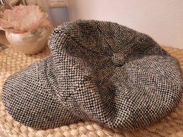 TCM Wollen hoed zwart-wolwit