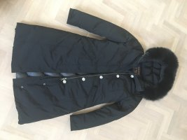 Woolrich Down Coat black mixture fibre