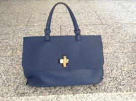 Wooww...NEU...Trendfarbe 21 blau Businesstasche Handtasche