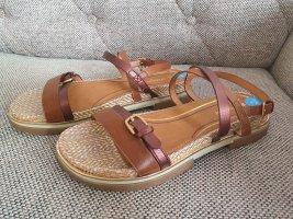 wrangler Sandalen Sandaletten gr. 39 neu riemchensandalen beaun beige bronze