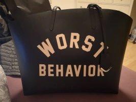 WRSTBHVR Shopper zwart
