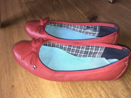 Tommy Hilfiger Mary Jane ballerina's rood