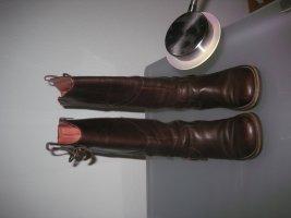 Kickers Ocieplane buty brązowy Skóra
