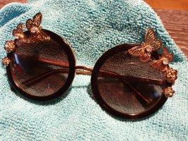 D&G Gafas de sol redondas multicolor