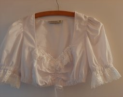 Tramontana Traditional Blouse white cotton