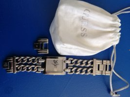 Guess Watch With Metal Strap silver-colored stainless steel