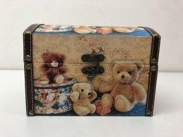Cosmeticabox camel-zandig bruin Hout
