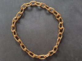 Wunderschöne goldfarbene Modeschmuckkette, NEU