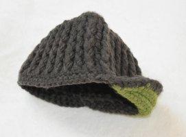 Knitted Hat grass green-khaki
