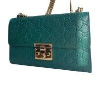 Gucci Shoulder Bag gold-colored-cadet blue