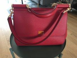 Wunderschöne Handtasche von Dolce & Gabbana in tollem rot.