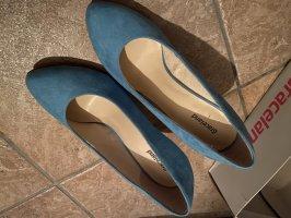 Wunderschoene hellblaue High heels