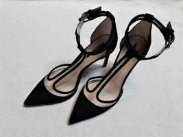 ♥ Wunderschöne High Heel Pumps von Zara Gr. 37 schwarz Stilletto ♥ WIE NEU ♥