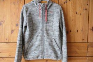 Salewa Fleece Jackets silver-colored mixture fibre