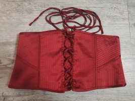Wunderschöne Laurèl Corsage Korsage rot dunkelrot Gr 38 S