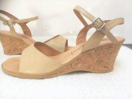 Wunderschöne Leder Sandale von Maloix für ein Sommermärchen, neu