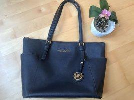 Wunderschöne Michael Kors Tasche dunkelblau
