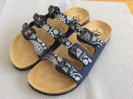 Comfort Sandals light grey-blue