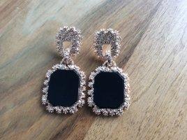 Statement Earrings black-sand brown