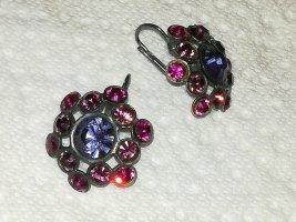 Wunderschöne Ohrringe mit bunten Steinchen