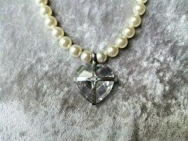 keine Marke bekannt Collar estilo collier blanco puro vidrio