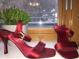 """Wunderschöne rubinrote Schuhe Original von """"Escada"""""""