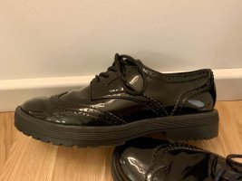 Aldo Moccasins black leather