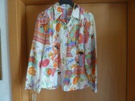 Basset Silk Blouse multicolored silk